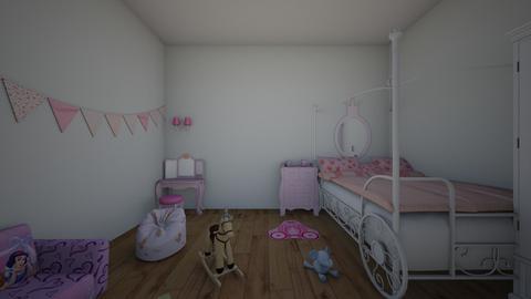 kids bedroom - Feminine - Bedroom - by Mysterious Man