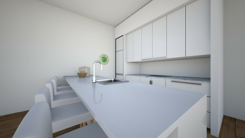 something nice and simpe - Kitchen - by Elisa Sage