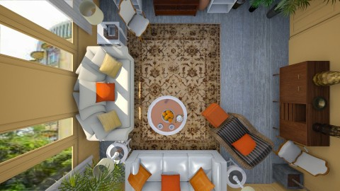 Spicy Living Room - Eclectic - Living room - by talialodaya