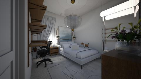 european  - Bedroom - by emmakatherinee