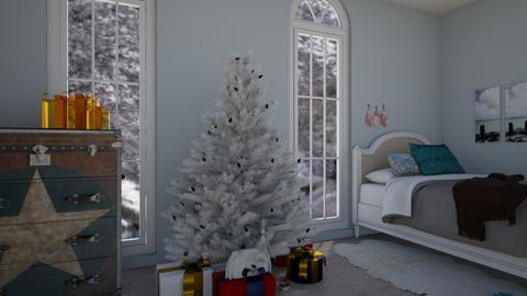 Christmas Star - Bedroom - by bleeding star