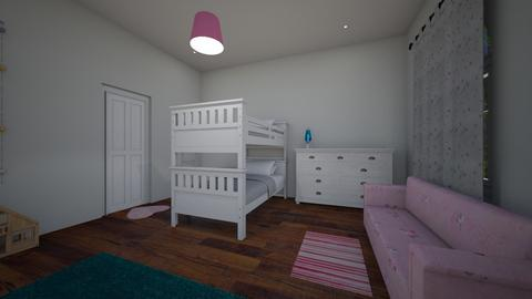 kids room 3 - Kids room - by hallefran