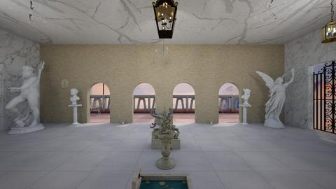 Palace Balcony - by WestVirginiaRebel