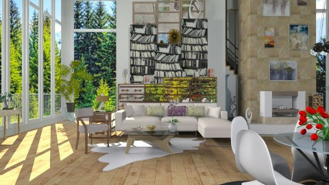 The Lake House - Modern - Living room - by milyca8