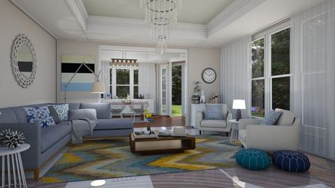 Azul - Living room - by Raquel Collison