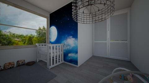 night - Kids room - by o vivess