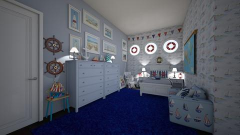 nautical - Kids room - by hillygabe