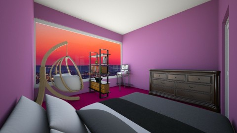 Random Room 1 - Classic - Bedroom - by ReesesPieces203