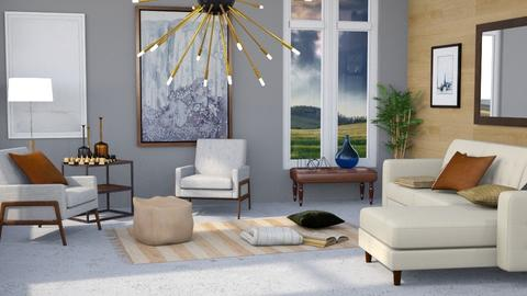 Template 2019 living room - Modern - Living room - by Gurns