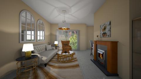 Allegro - Glamour - Living room - by Daisy de Arias