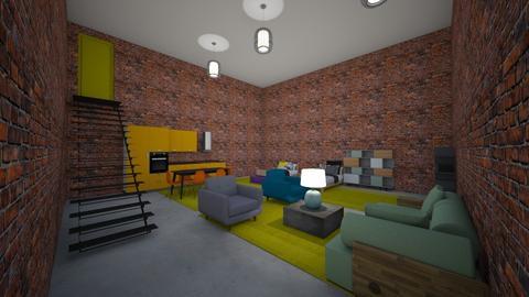 Student Loft - by MangaandCatManiac