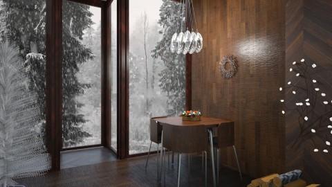 Snow is falling - by Kalinowska