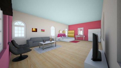 Rachels Bright Bedroom - Bedroom - by bohlrachel