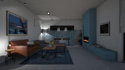 Living area - Minimal - Living room - by Annathea