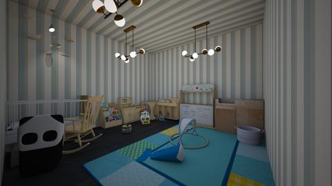 Baby Boy Nursery - Kids room - by Makena Holdaas