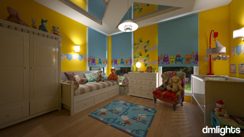 Baby boy - Bedroom - by Roberta Bela