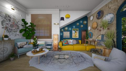 Boho - Living room - by Nicky West