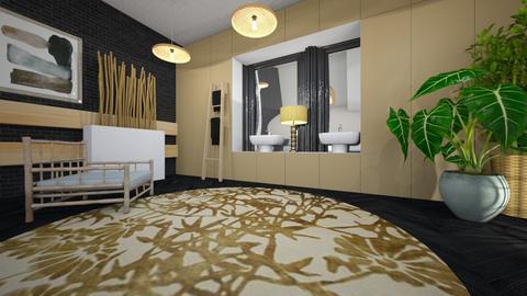 bamboo - Bathroom - by ana111