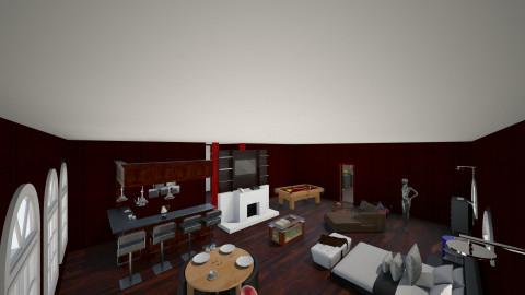 The Design - Bedroom - by xbuckxwildx