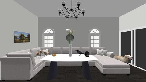 Cozy Living Room - Modern - Living room - by Mmant30