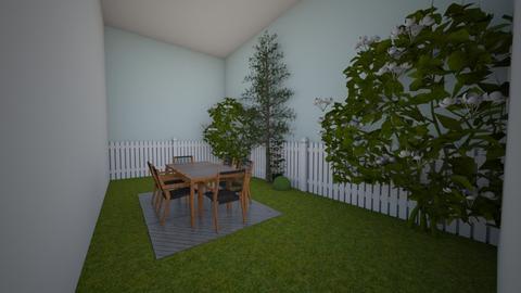 Rear Yard Patio - Garden - by jonbaldwin