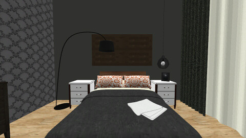 Interior - Bedroom - by VaidaBirgiolaite