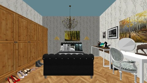Varonicas room - Bedroom - by KB DAVIS