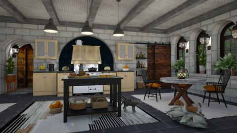 My Swiss Chalet Kitchen - by lydiaenderlebell