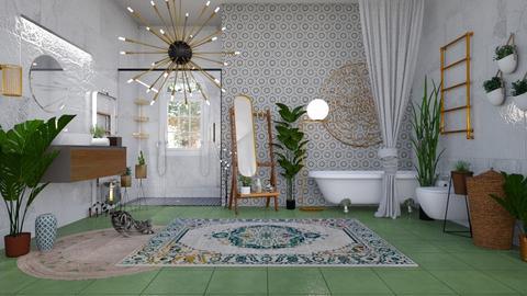 Boho Bath - Bathroom - by andrijanadejanovic