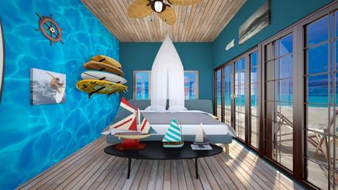 Surfs Up - Bedroom - by SammyJPili