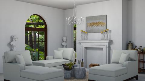 Triklino - Living room - by kattakarra