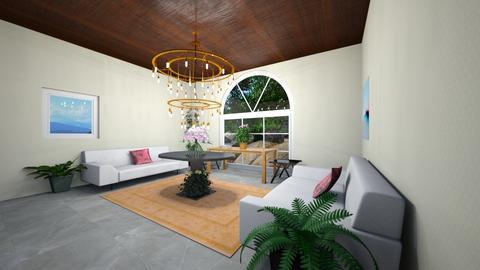 Santa Barbara Unfinished - Global - Living room - by PoppiCat