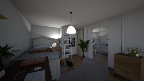 muj pokoj - Bedroom - by SlunecniceVince