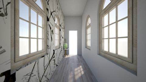 Simple Hallway - Modern - by Kitty Elizabeth