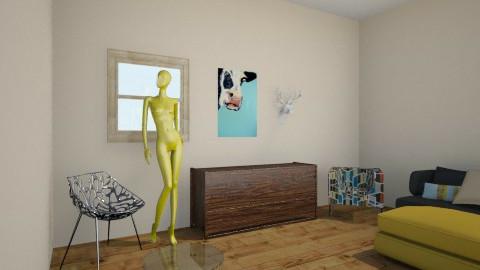 Modern Rustic - Rustic - Living room - by ElRoRo23