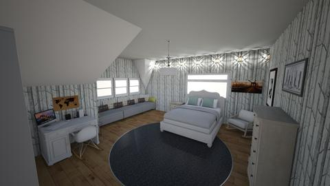 Attic woods room - Bedroom - by Nanni 1708
