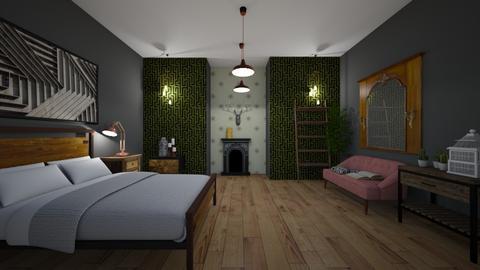 bedroom - Bedroom - by OliviaKirsopp
