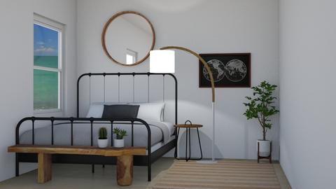 simple bedroom - Bedroom - by Margaret Kilgallon