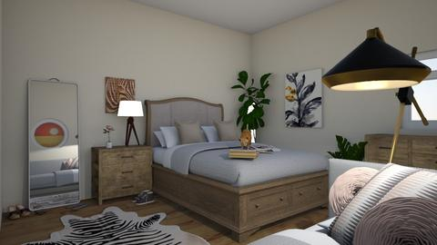 african  - Bedroom - by LMR