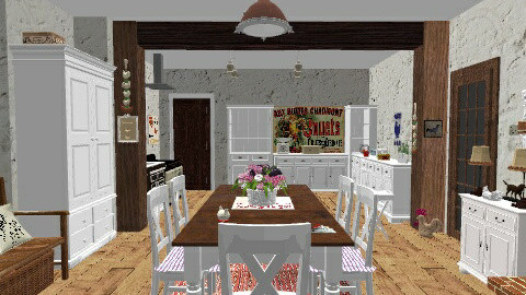 kitchen and dining - Vintage - by milyca8