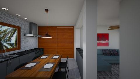projeto 00103 - Kitchen - by jupitervasconcelos