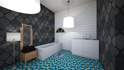 dream bathroom - Modern - Bathroom - by Cardinal14
