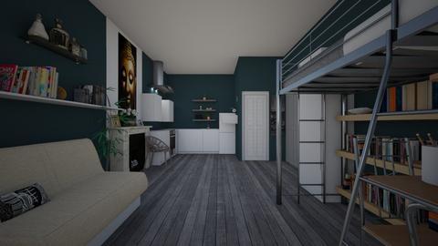 Bantu_Bedroom - Bedroom - by XelleWishes