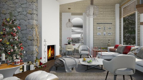 Finnish Christmas  - Modern - Living room - by janip