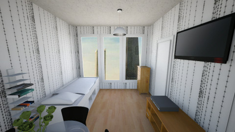 Studio2 Bed N Closet - Bedroom - by mzprincess