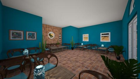 azure beach resturant - Dining room - by Lady Twinkletoes