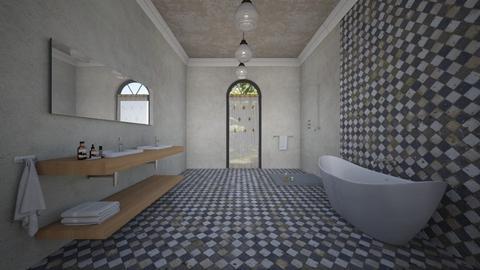 bathing space - Minimal - Bathroom - by kitty