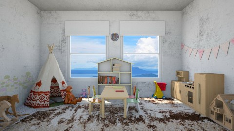 Kiddy - Country - Kids room - by Faye Dela Cruz