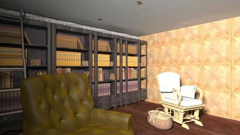 reading room - by Nina Gatta