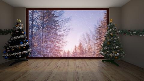 christmas - Living room - by emitc48